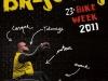Affiche de la 23ème édition de la Brescoudos Bike Week