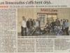Article du journal le Midi Libre de la présentation de l'affiche de la 24ème Brescoudos Bike Week