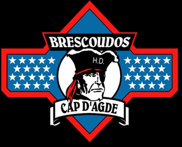 club de moto Les BRESCOUDOS - Harley Davidson, Custom, Gold wing - Le Cap d´Agde (34)