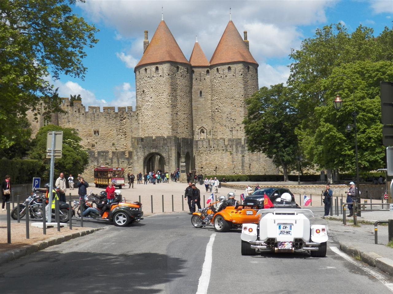 Balade à Carcassonne du samedi 25 mai 2013