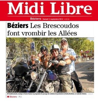 Une du MidiLibre Béziers1
