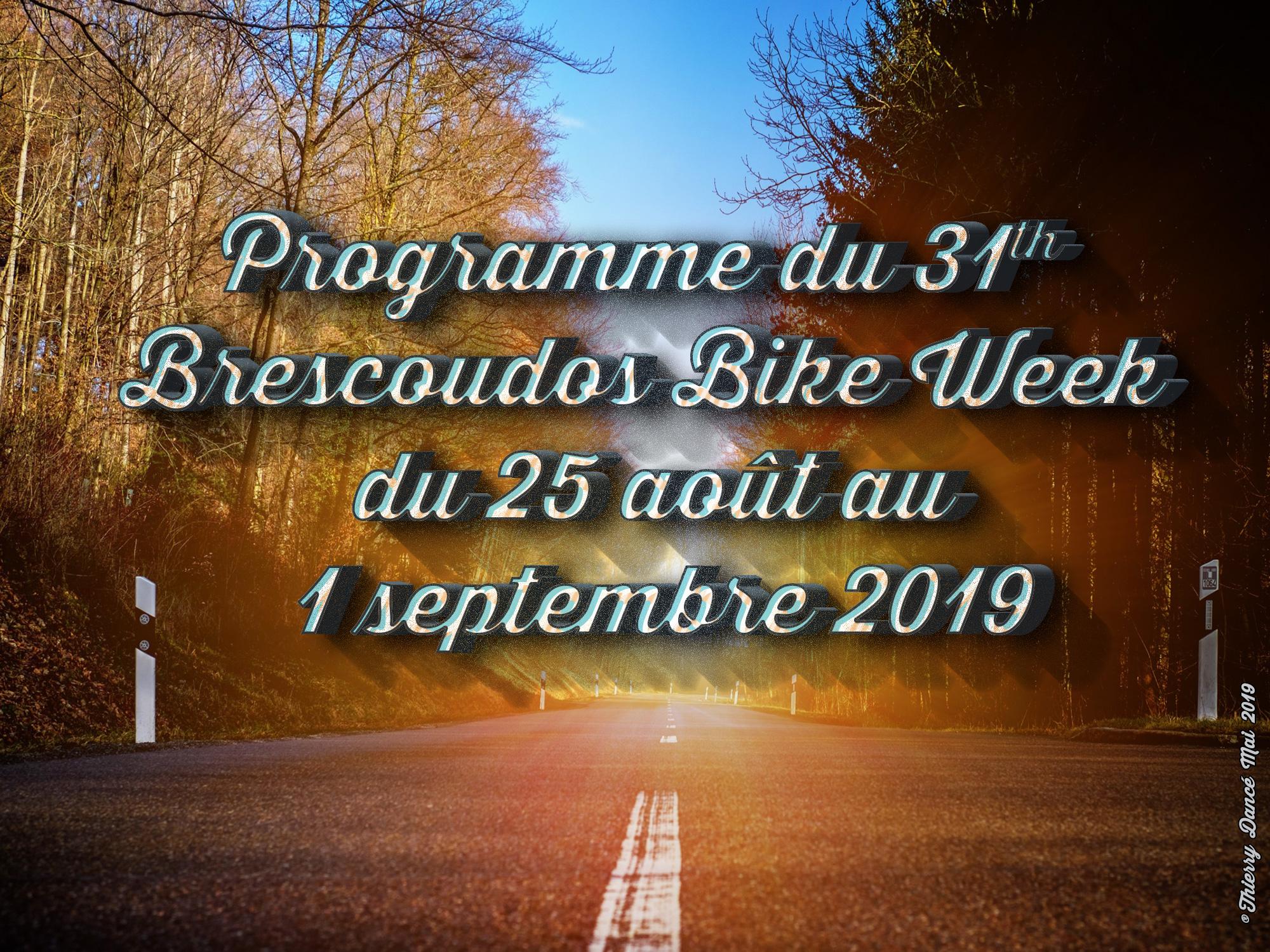 Programme 31th BBW